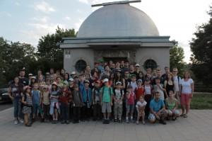 Skončil Astronomický tábor 2014