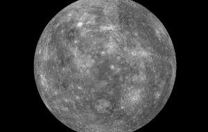 Merkur na ranní obloze